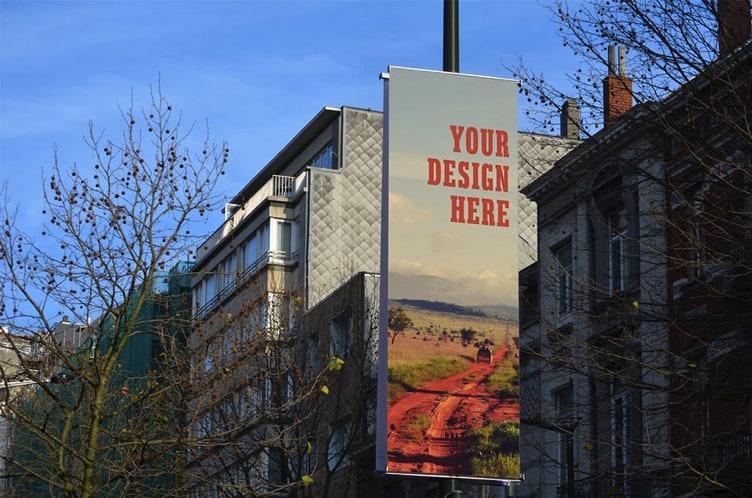Urban Street Billboards mockup
