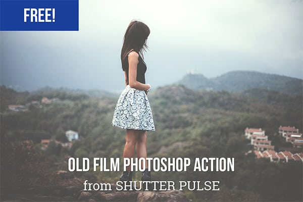 Old Film Look Photoshop Actions