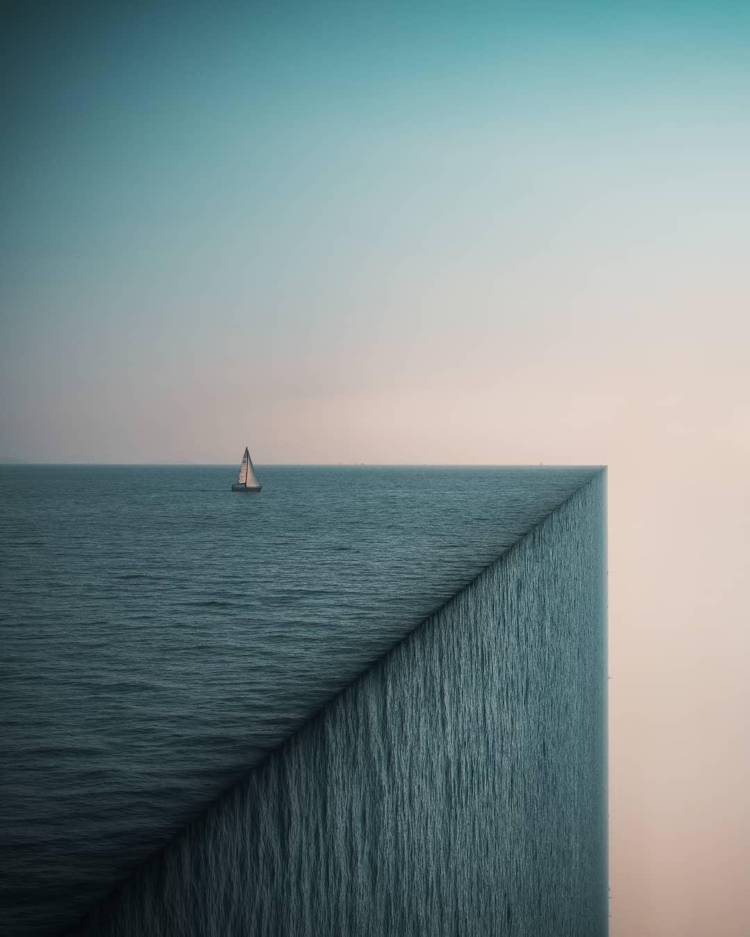 fallen ocean world photoshop edit