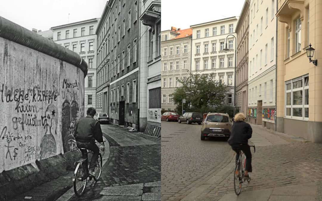 Photos of Berlin: Before and After the Wall