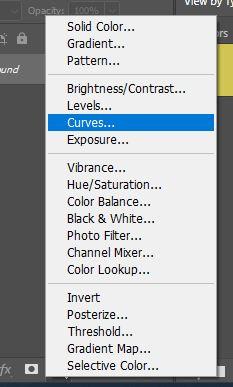 New curves adjustment layer photoshop