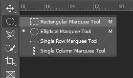 rectangular marquee selection tool photoshop