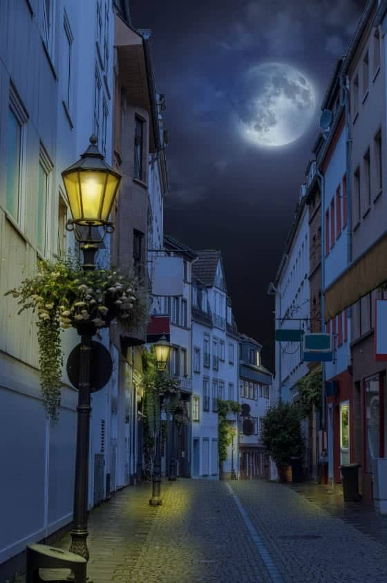 How to Turn Day into Night with Photoshop