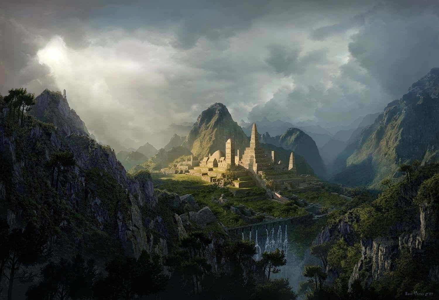 Photoshop Matte Painting Tutorial