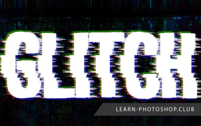 How to Create a Glitch Text Effect with Photoshop