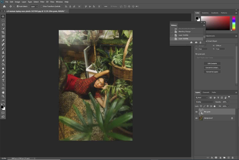 photoshop image open