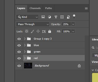 photoshop group layers icon