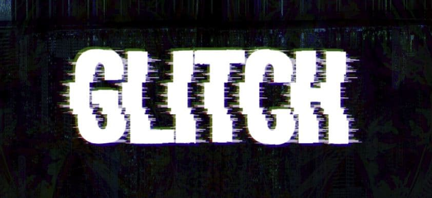 glitch text effect photoshop tutorial