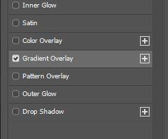 layer styles option