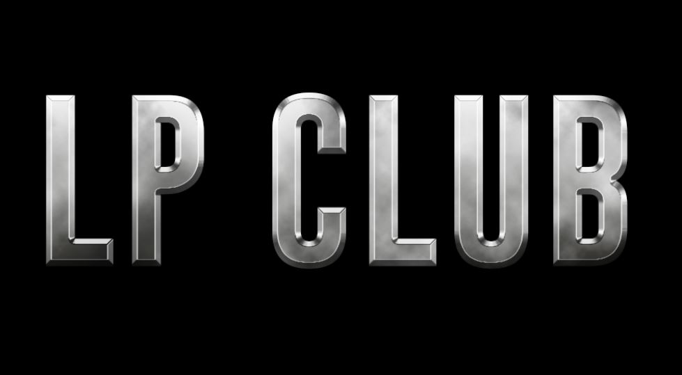LP club metallic text effect