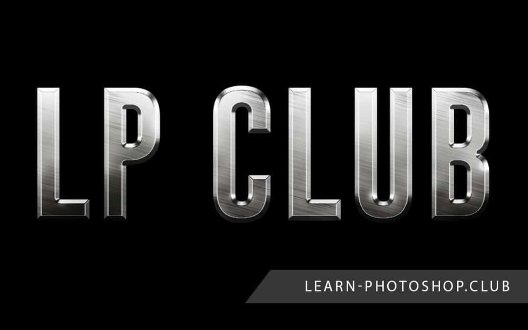 How to Create a Metallic Text Effect in Photoshop
