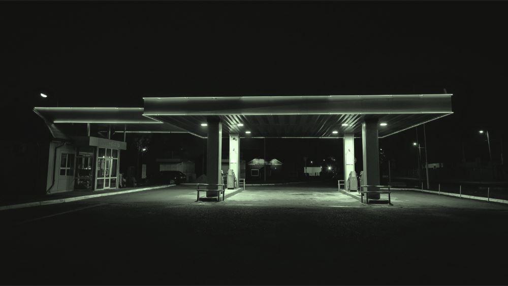 fuel station image