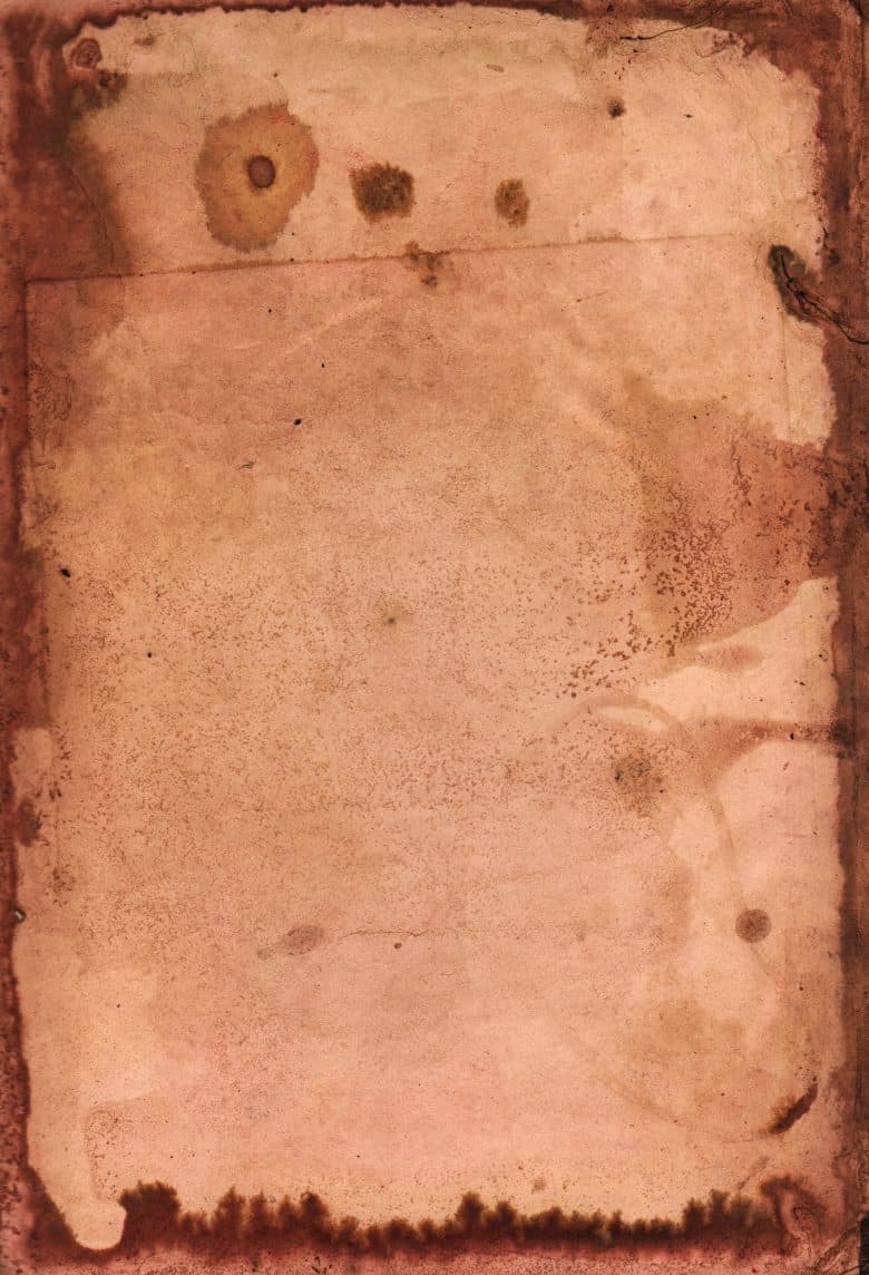 red stained old paper texture