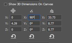 3d coordinates photoshop