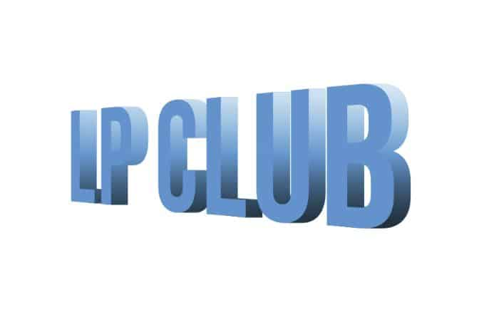 LP CLUB 3d text effect