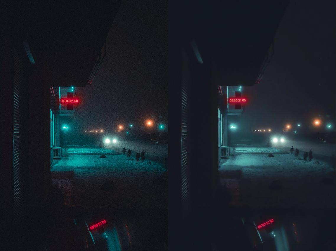 noise reduction using camera raw photoshop
