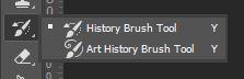 photoshop history brush tool