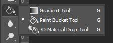 photoshop gradient tool