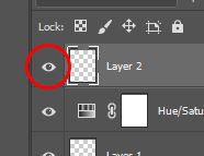 photoshop active a layer