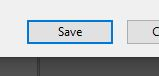 save windows button