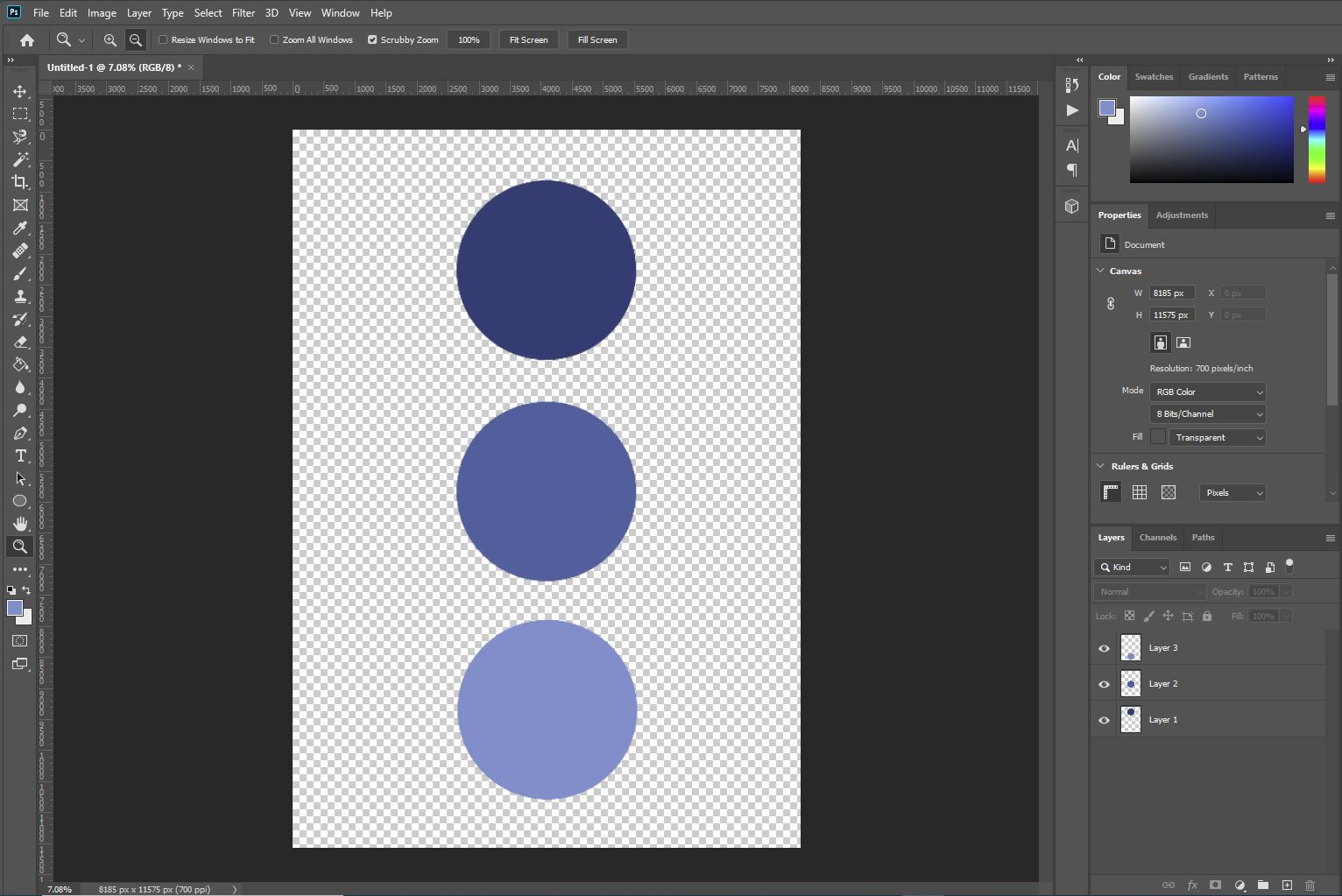 difference between flatten image and merged layers in photoshop