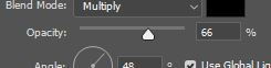 Photoshop opacity layer style