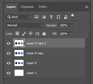 Photoshop layer panel