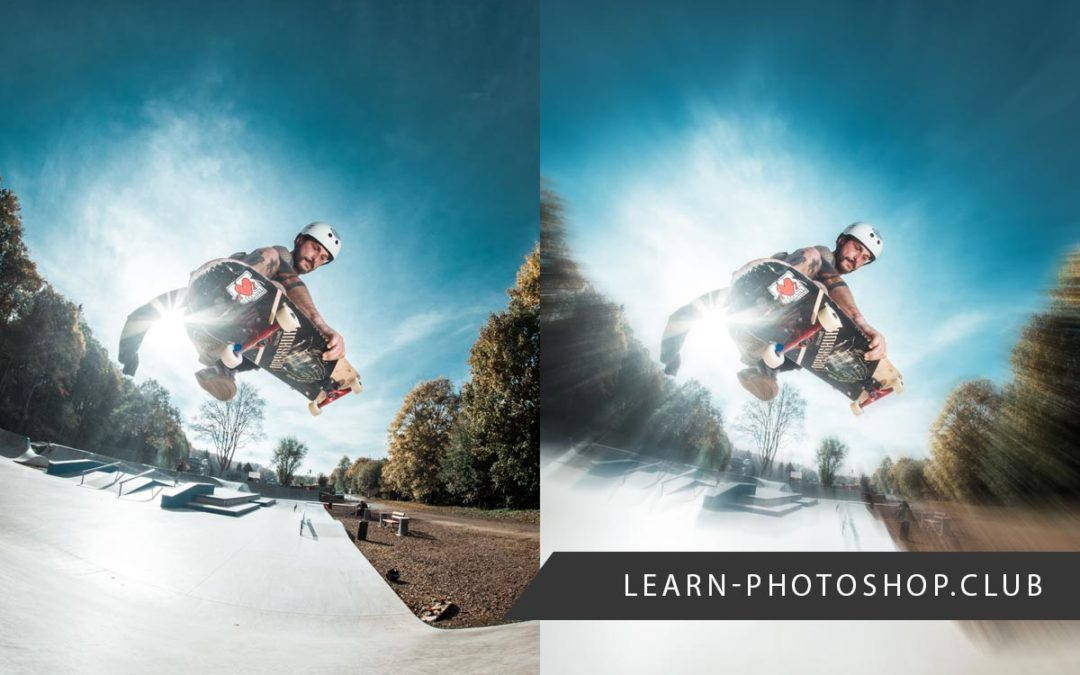 How to Create a Radial Blur Action Effect