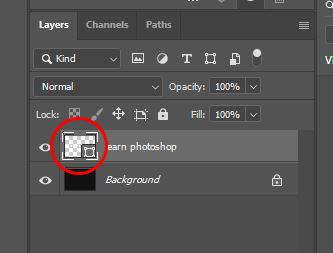 shape layer photoshop