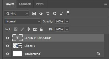 learn photoshop text layer photoshop