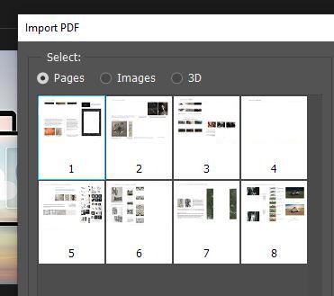 open pdf photoshop
