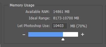 Enough Memory photoshop