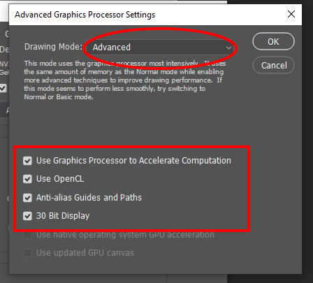 Advanced Settings of Your Graphics Processor