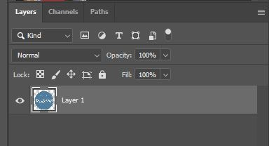 layer panel photoshop