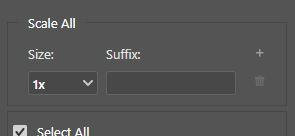 export as settings